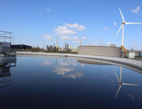 Evides Industriewater kiest voor Zelfhelend beton